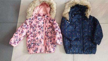 Nowa kurtka dla dziewczynki w rozmiarze 86 oraz 104