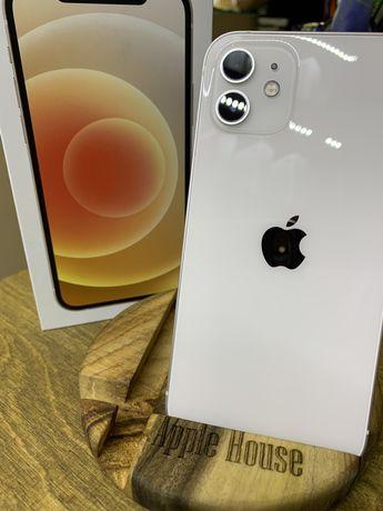 iPhone 12 64 white neverlock Гарантия 6мес Идеал Магазин
