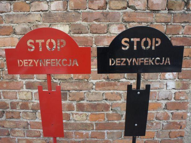 Stojaki do dezynfekcji