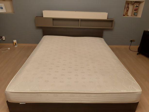 Materac do spania łóżko 160x200 wysokość 18 cm dobra jakość Hilding