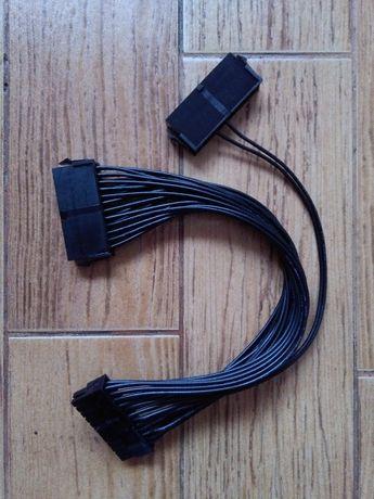 Przedłużacz do zasilacza ATX 24 Pin żeński - 20+4 Pin męski