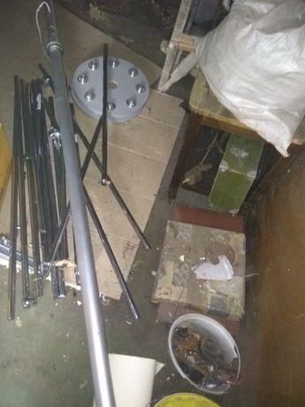 продам алюминивою трубу 3 метра под светильник офисный