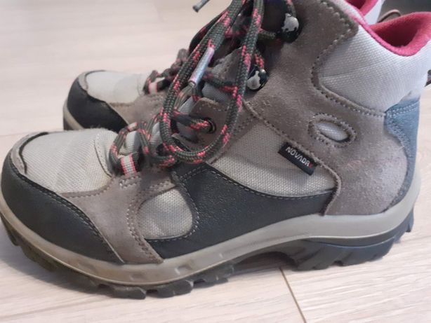 DECATHLON OXYLANE QUECHUA buty trekkingowe r.35 wew 22cm
