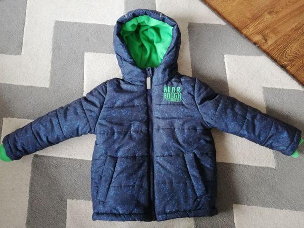 Kurtka zimowa 104 czapka +rękawiczki, majtki oraz piżamka gratis