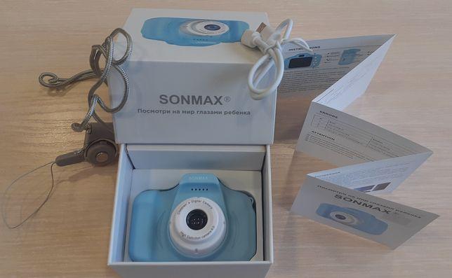 Детская цифровая фотокамера SONMAX для развития творчества ребенка