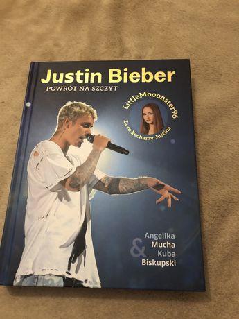 """Justin Bieber ,,Powrót na szczyt"""" książka littlemonster96"""
