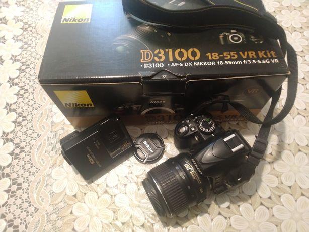 Продам (продаю) фотоапарат Nikon D3100 + обьектив 18-55 VR Kit (ориг.)
