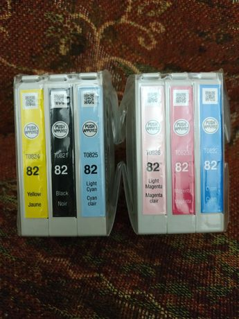 Картриджи фото принтера Epson R390.