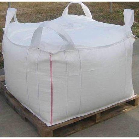 Nowy Worek Big Bag beg 95/95/100 cm lej zasyp/wysyp 1500 kg HURTOWNIA