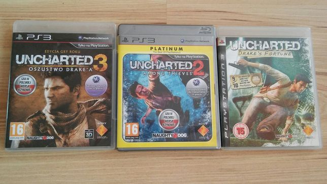 Ps3 gry Uncharted