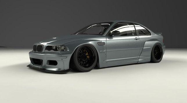 Wzmocnienie mocowania wózka BMW E46 DRIFT M3