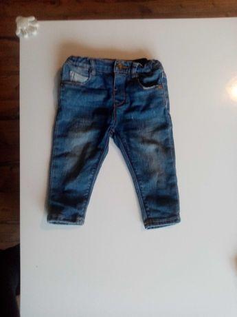 Spodenki jeansy Zara roz. 74