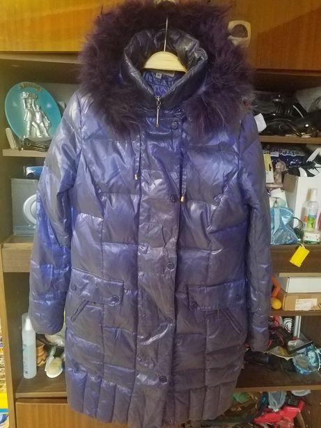 Пуховик пальто-куртка зима NEWMARK 48-50 РАЗМЕР(L,XL)
