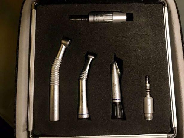 Kit KAVO de Dentista Turbina Contra angulo micro motor e peça de mao