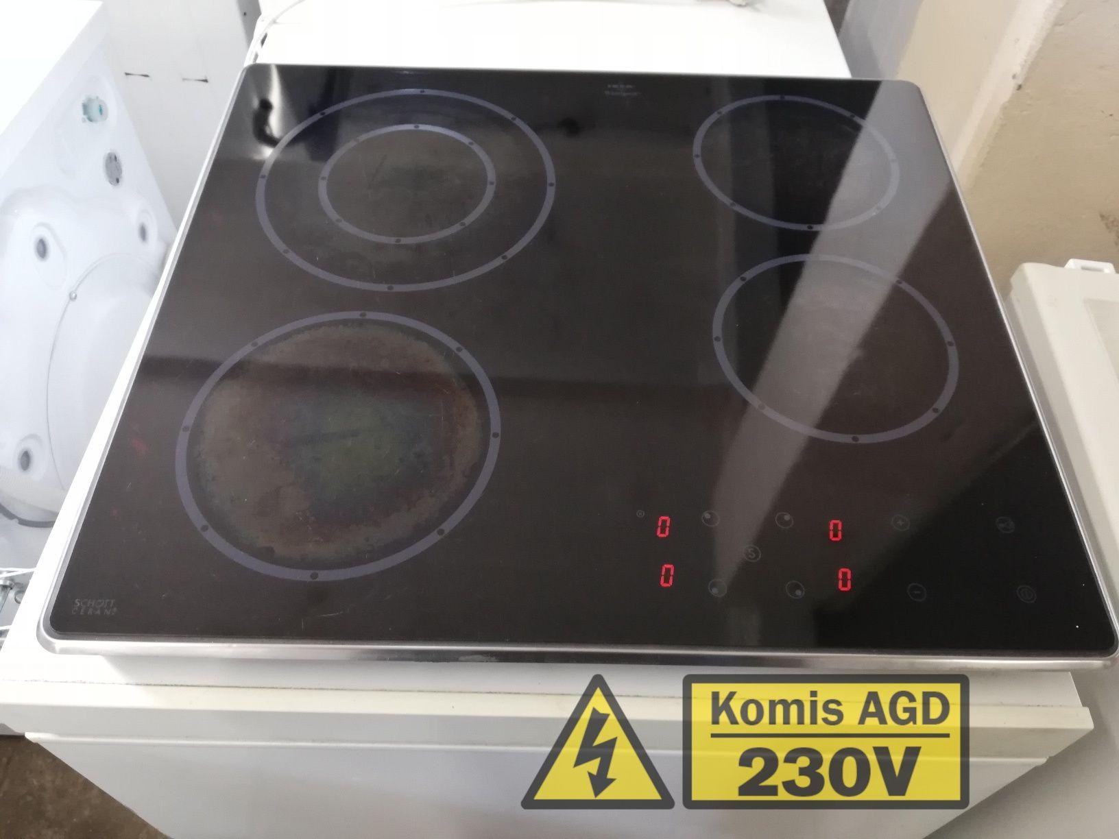 Płyta Whirlpool elektryczna ceramiczna  12msc  BD stan  Dowóz
