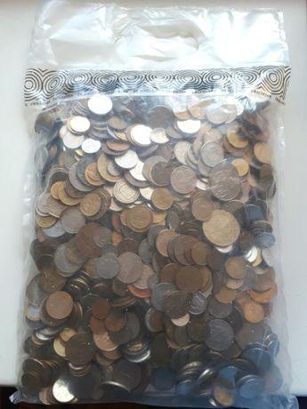 Мешок иностранных монет 5 кг