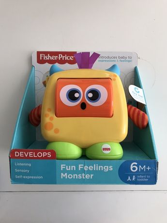 Развивающая игрушка Fisher Price Монстрик со звуковым эффектом.