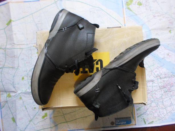 Кожаные полуботинки,кеды,туфли Caterpillar 40-41р.
