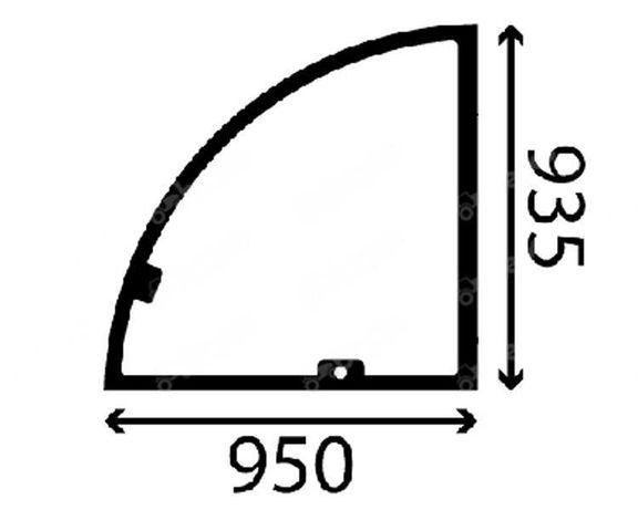 Genie: GTH 3512 SX, GTH 4010 SX szyba drzwi góra
