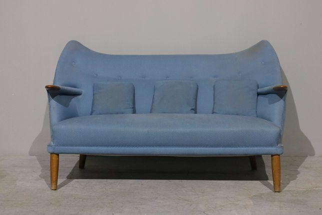 Sofá de 2 lugares Kurt Ostervig | Sofá vintage