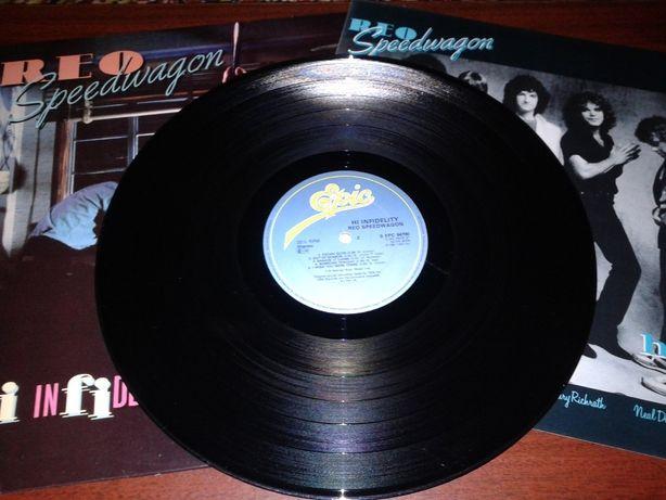 """винил REO Speedwagon """"Hi Infidelity"""" 1980 - EPIC/ (UK 1981) - EX+"""