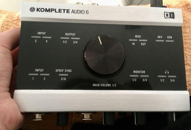 Interface Áudio Premium - Native Instruments
