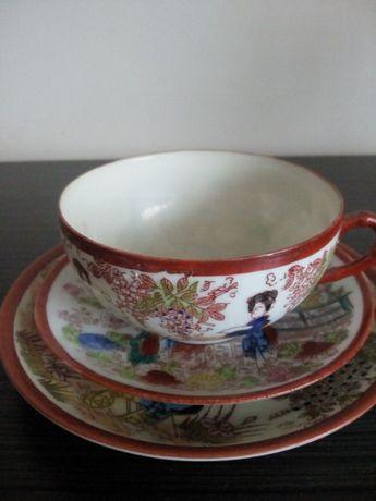 kolekcjonerska filiżanka porcelanowa