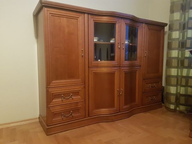 Komplet mebli LATZKE RUPERT stolik, komoda, biurko, krzesło