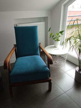 Piękny fotel z dwudziestolecia międzywojennego - antyk