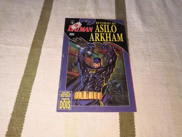 Batman retorno ao asilo de Arkham