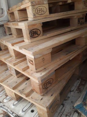 Paletes madeira como novas