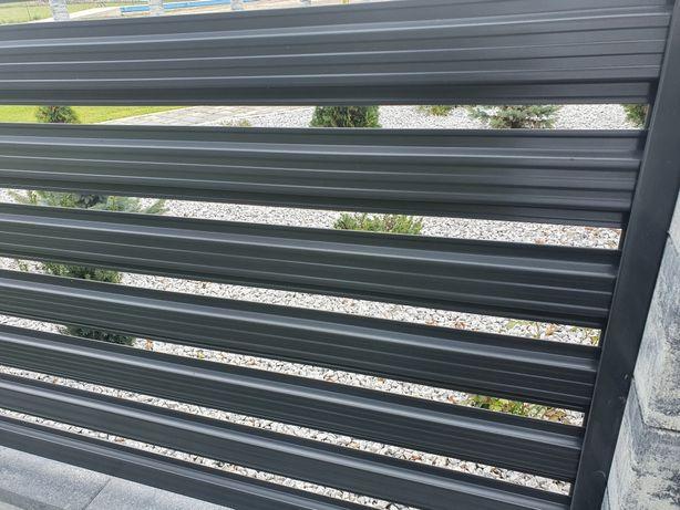 Sztachety metalowe 10 zl mb