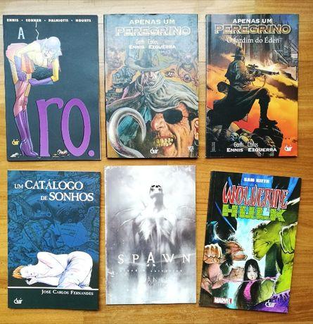 Livros de BD edicoes Devir e outros em bom estado!