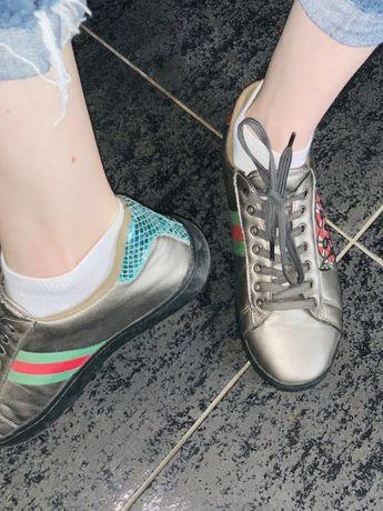 Молные кросовочки Gucci