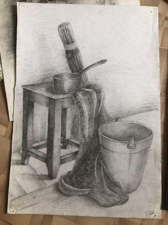 Рисунок. Картина карандашом