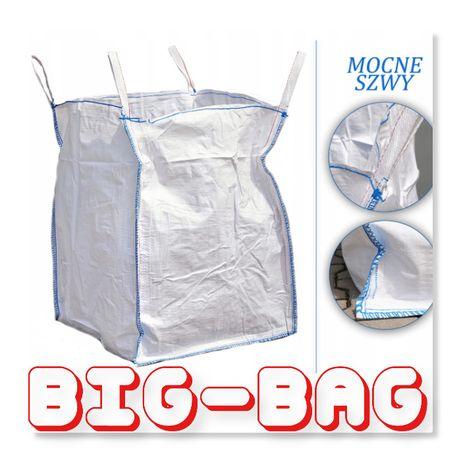 Worki Big Bag rozmiar 120cm na 1500kg kamienia kruszywa Mocne Szwy!