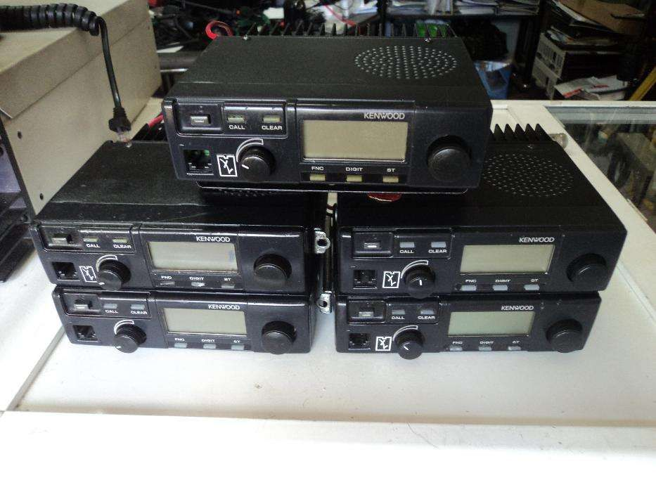 5 Rádios Kenwood de UHF ,PMR ou Empresas Beja (Salvador E Santa Maria Da Feira) - imagem 1