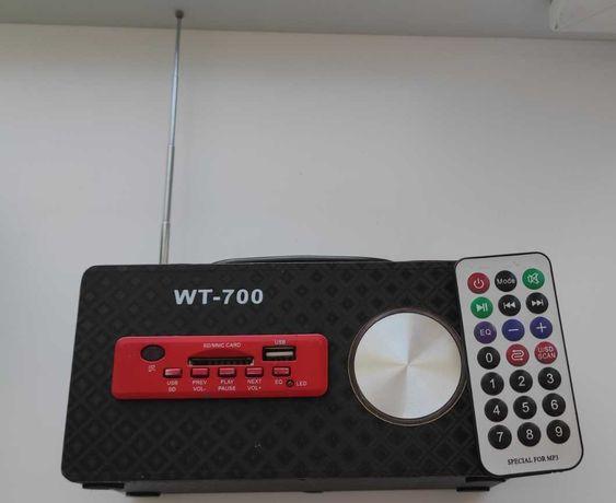 портативна колонка WT-700