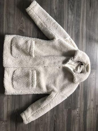 Kożuszek miś płaszcz zimowy hm H&M rozmiar m/ 38