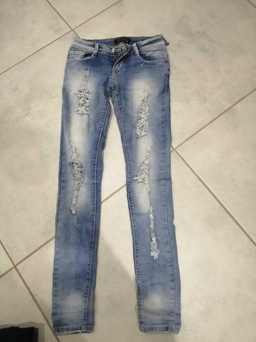 Spodnie jeansy 34 Kościerzyna - image 1