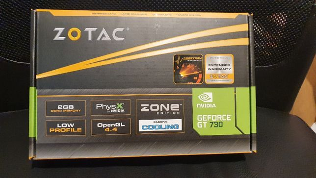 Karta graficzna Zotac GeForce GT 730 2GB ZONE Edition HDMI DVI D-SUB