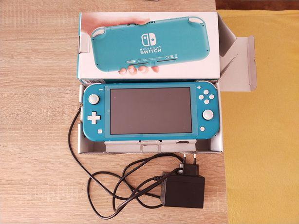 Nintendo Switch Lite turkusowy komplet