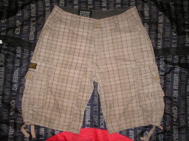 Бренд G-Star тактические патрульные шорты карго размер 32