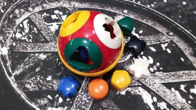 Сортер – развивающая игрушка для малышей (6 фигурок)