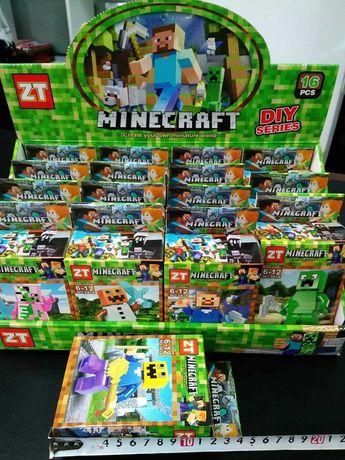 Klocki Minecraft