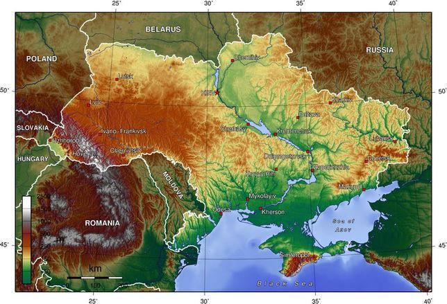 Археологические Точки и Старинные Карты Украины — Места для Копа