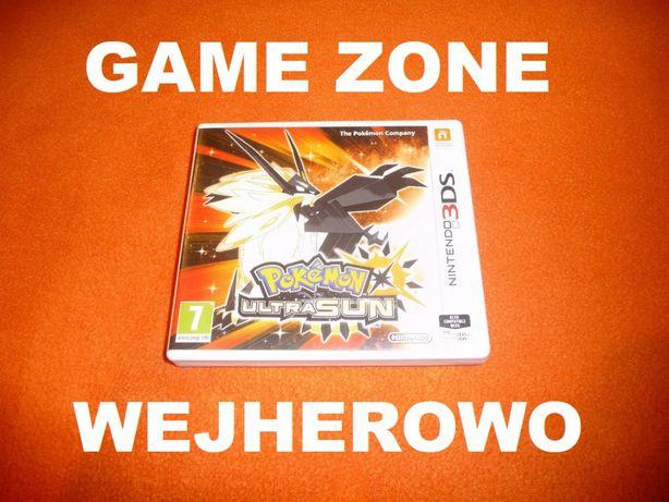 Pokemon Ultra Sun Nintendo 3DS + 2DS = Wejherowo SKLEP