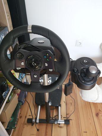Kierownica Logitech g920 + wheel stand pro xbox pc