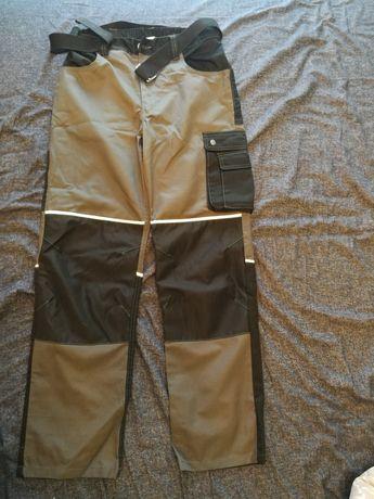 Spodnie robocze BHP. Nowe. Rozmiar M/L