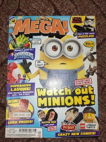 Журнал на английском Mega март-апрель 2015